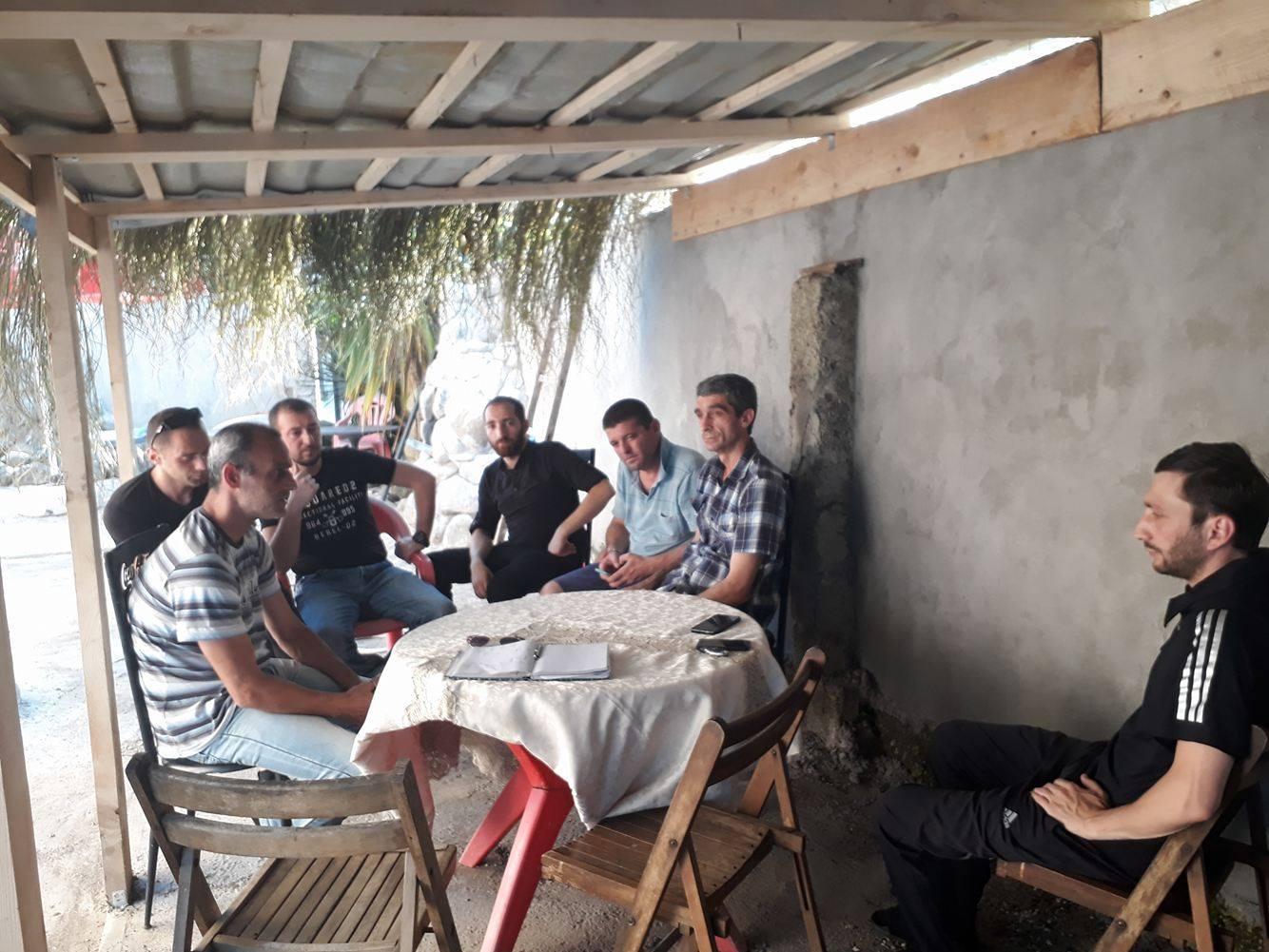 მწვანე კონცხის საზოგადოებრივი დარბაზის შეხვედრა